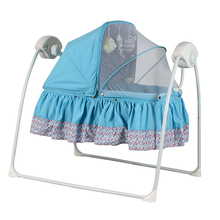 Newest hot baby cribs baby swing bed factory price