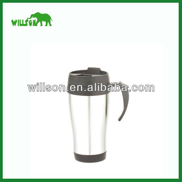 450ml Stainless Steel Keep Hot Drinking Office Vacuum Cup/ Coffee Thermos For Gift