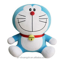 Cheapest promotional doraemon plush cartoon toys