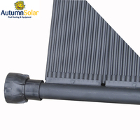 UV resistant module rigid solar pool heating collector