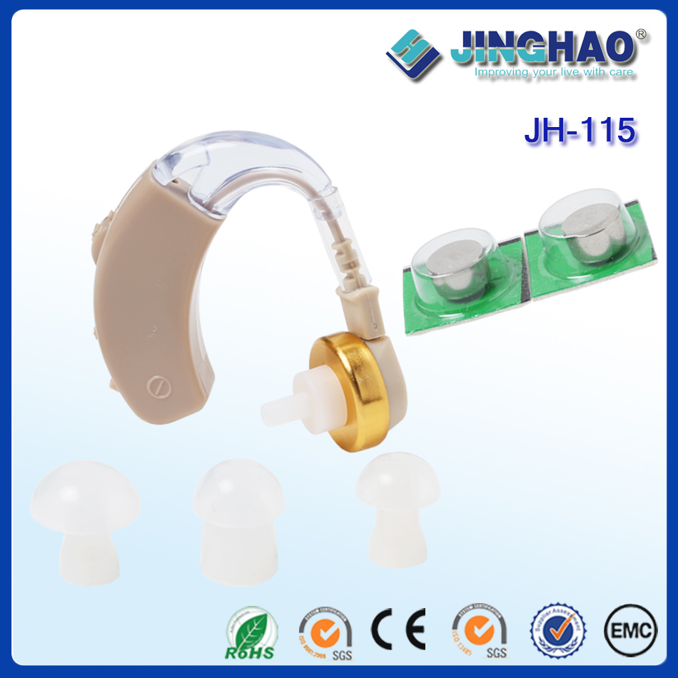 Good quality hearing aid China manufacture bte cheap ear amplifier for the deaf