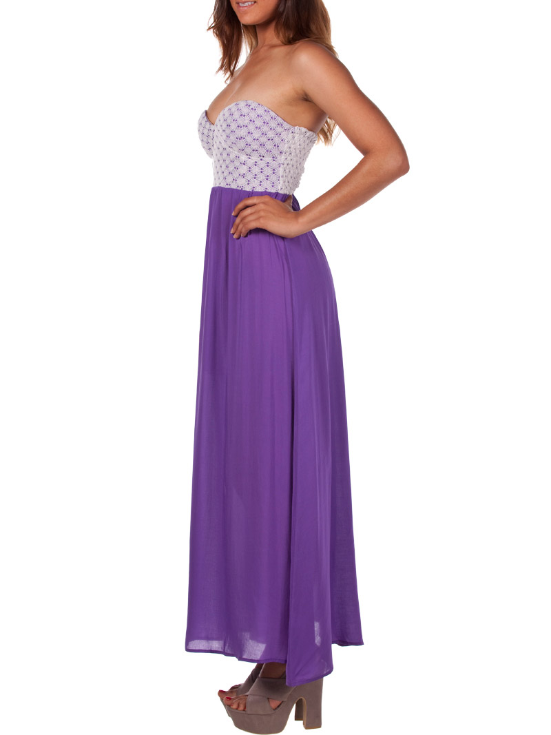 China cheap wholesale purple off shoulder chiffon bridesmaid dress