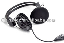 2013 Cheap wired headset with a microphone headset