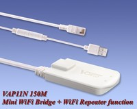 VONETS VAP11N 150M Mini WiFi Bridge together with WiFi Repeater function
