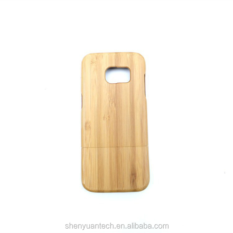 New Production Style Wood Skin Phone Case Customized Engrave For S7 Edge