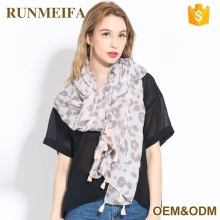 Fashion Large Long Latest Scarf Designs Women Animal Stoles And Shawls