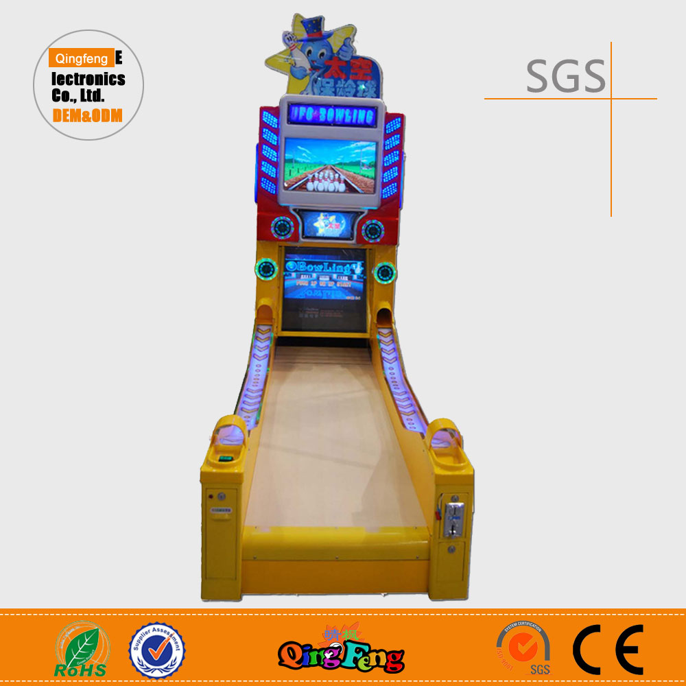 Qingfeng Dream cricket bowling machine arcade bowling machine for sale