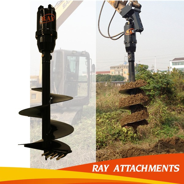 hot sale high-quality hydraulic post hole digger for construction