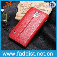 flip smart leather stand case for s5 with window view