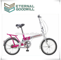 Foldable new model wholesale used bicycle 16/18/20 inch MINI bisiklet folding bike/bicycle/cycle model GB2022