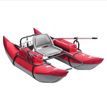 Portable inflatable float tube boat with stainless steel frame for sale