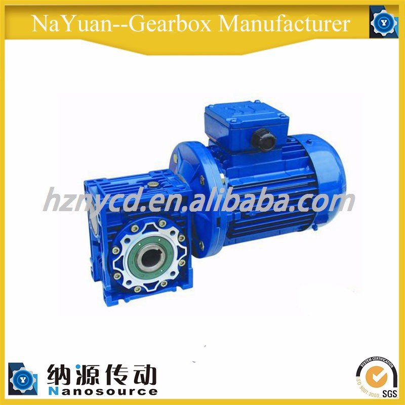Worm gear speed reducer speed gearbox for sugar machine