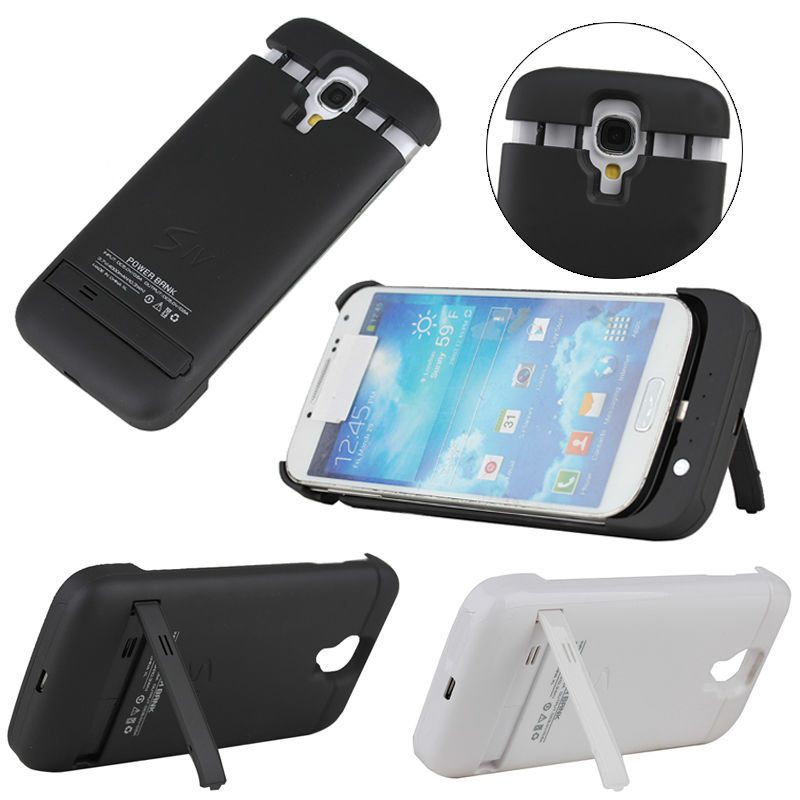 for Samsung galaxy S4 battery case, 4000Mah battery case for samsung galaxy s4 i9500