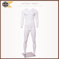 Hot sale remove parts male ghost mannequin invisible mannequin v cut
