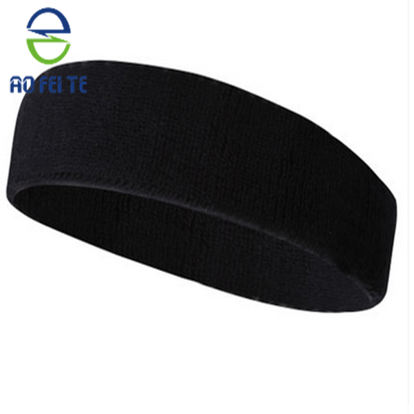 New design rubber sports headband one size fits all people