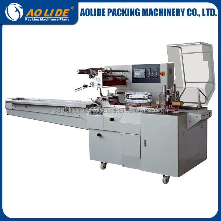 automatic horizontal A4 paper flow packing machine ALD-600W