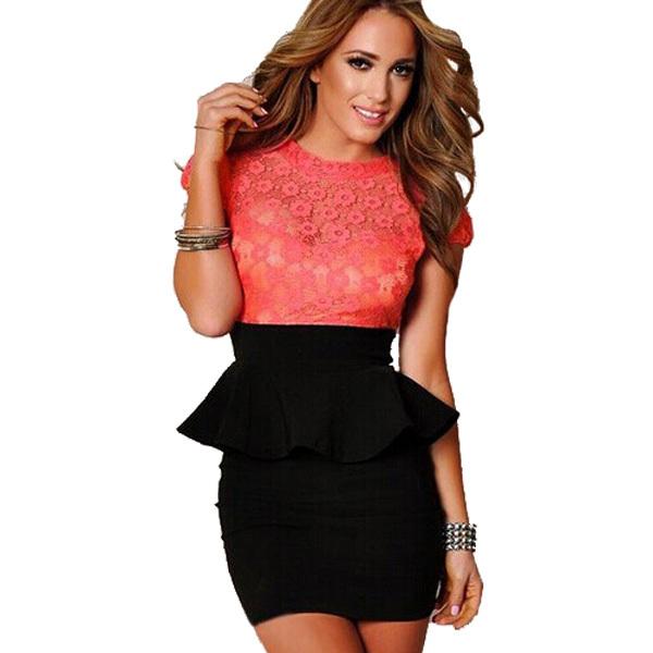 Cheap Lace Peplum Dress Plus Size Find Lace Peplum Dress Plus Size