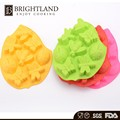 Colorful Silicone Animal Insert Shape Bread Cookie Mold