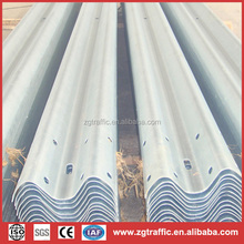 galvanized steel road safety traffic barrier
