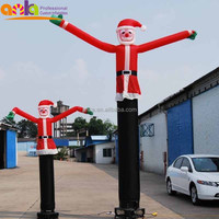 Toys dancing santa inflatable for christmas decoration(nylon, promotion,China manufacturers)