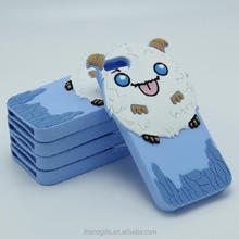 MOQ 500pcs custom silicone phone case manufacturer in China