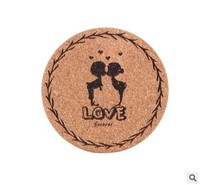 New Cute cork wooden Coffee / Cup Coaster / Tea Mat & pads / fashion style / Wholesale