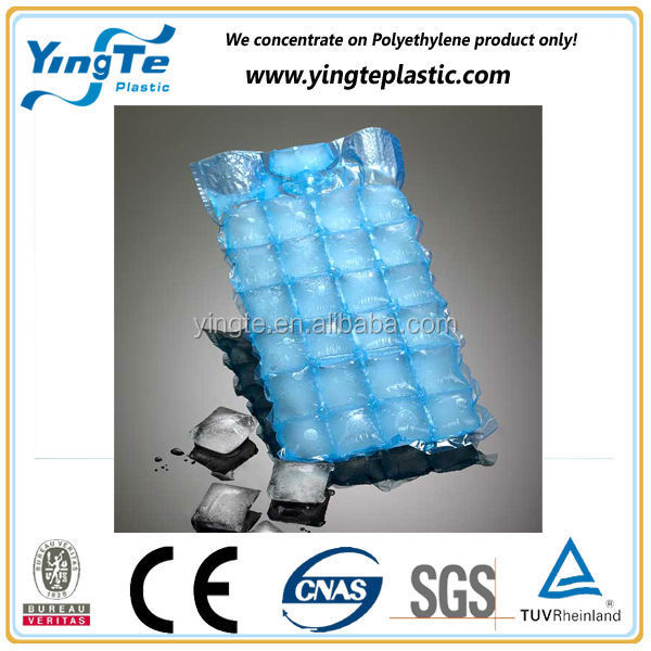 Google hot sale slef adhesive disposable ice cube bag