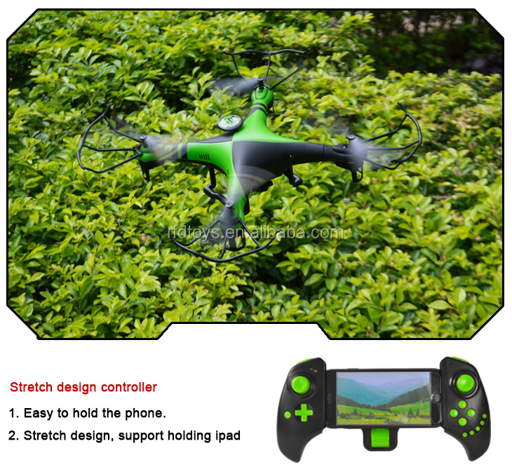 XBM-39W wifi control altiude hold rc quadcopter 2.4G 4ch headless mode rc ufo drone with 720P selfie drone