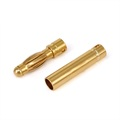 Gold plated bullet electric Male Female 4mm banana plug connector for RC UAV