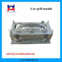 Excellent Auto Parts Grill Plastic Injection Molding Manufacture