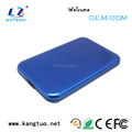 "blue 2.5"" sata Portable HDD Case External Hard Drive hdd Enclosure"