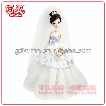 Fashion wedding party gift bride doll collection