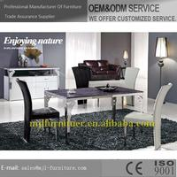 Super quality new coming classic dining table and chairs
