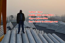 2013 hot sales! wooden electrical poles,electric concrete pole making machine,concrete electric pole factory in Kenya