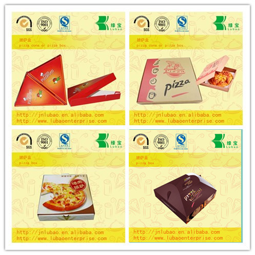 fashion paper cone or box for pizza wholesale