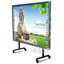 82 inch multi-touch finger touch interactive whiteboard/smart board with gesture recognition and auto-calibration