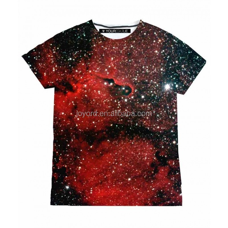 full sublimation printing men's tshirt