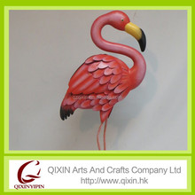 handmade metal flamingo products cheap for sale pink flamingo garden ornament