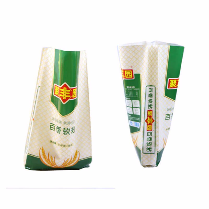 Sealed Plastic Packaging Polypropylene Rice Bags 10kg 25kg Rice Bag