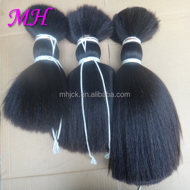 100% Natural Yak Hair For Hair Extensions