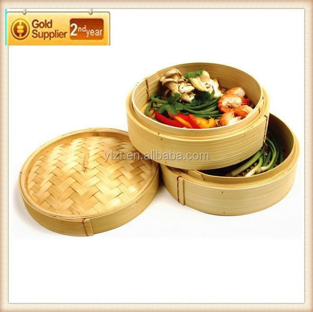 Factory direct selling Mao bamboo commercial bamboo steamer set WITH BEST PRICE