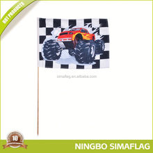 Reasonable & acceptable price factory directly knitting hand flag