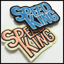 Unique 3D Round Embroidery Custom Patch Colorful Patch Custom Speed King