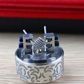 Popular manufacturer DIY elcctronic cigarette accessories coil wire prebuilt coil wire for RDA/RTA with Fused Clapton coil