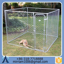 Large outdoor strong hot sale strong excellent dog kennel/pet house/dog cage/run/carrier