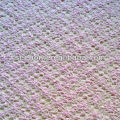 pink bodkin jacquard knit fabric for sweater