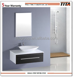 PVC wall bathroom corner vanity cabinet(TM305)