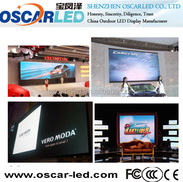 2015 new prodcut indoor led screen big sexy hd video/p5 china indoor advertising led display
