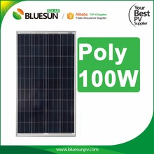 Bluesun pv system solar module panel for 100w price