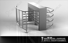 Interior Physical access control Security gates, Cheap price indoor Security turnstile gate for civil security